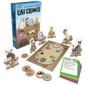 76366 Logikspiele Cat Crimes™ von Ravensburger 4
