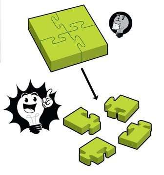 76387 Logikspiele 4-Piece Jigsaw von Ravensburger 7