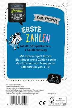 80658 Kinderspiele Lernen Lachen Selbermachen: Erste Zahlen von Ravensburger 2
