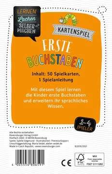 80659 Kartenspiele Lernen Lachen Selbermachen: Erste Buchstaben von Ravensburger 2