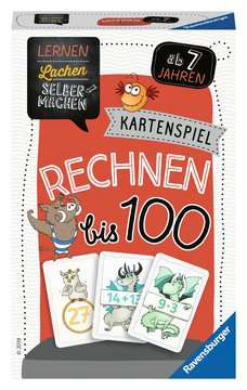 80660 Kartenspiele Lernen Lachen Selbermachen: Rechnen bis 100 von Ravensburger 1