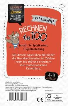80660 Kartenspiele Lernen Lachen Selbermachen: Rechnen bis 100 von Ravensburger 2