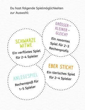 80660 Kartenspiele Lernen Lachen Selbermachen: Rechnen bis 100 von Ravensburger 4