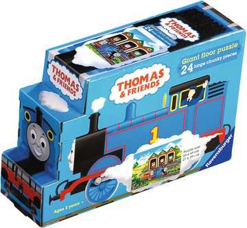 Thomas in Shaped Carton Puzzles;Children s Puzzles - image 1 - Ravensburger