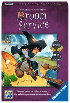 Broom Service Games;Strategy Games - image 1 - Ravensburger