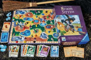 Broom Service Games;Strategy Games - image 3 - Ravensburger