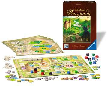 The Castles of Burgundy Games;Strategy Games - image 2 - Ravensburger