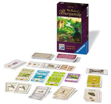 The Castles of Burgundy – The Card Game Games;Strategy Games - image 2 - Ravensburger