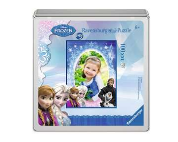 my Ravensburger Puzzle Disney Frozen – 100 pieces in a metal box Jigsaw Puzzles;Children s Puzzles - image 2 - Ravensburger