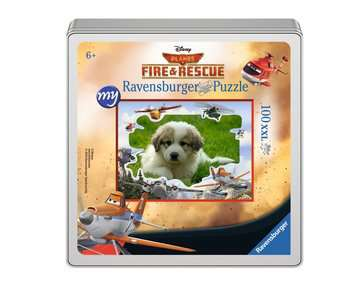 my Ravensburger Puzzle Disney Planes Fire & Rescue – 100 pieces in a metal box Jigsaw Puzzles;Children s Puzzles - image 1 - Ravensburger