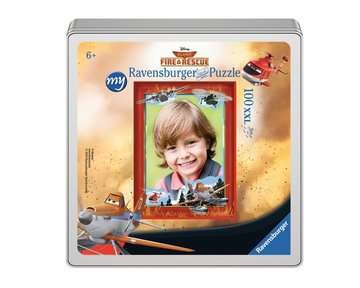 my Ravensburger Puzzle Disney Planes Fire & Rescue – 100 pieces in a metal box Jigsaw Puzzles;Children s Puzzles - image 2 - Ravensburger