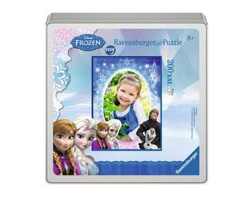 my Ravensburger Puzzle Disney Frozen – 200 pieces in a metal box Jigsaw Puzzles;Children s Puzzles - image 2 - Ravensburger