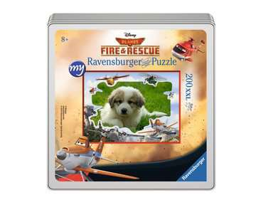 my Ravensburger Puzzle Disney Planes Fire & Rescue – 200 pieces in a metal box Jigsaw Puzzles;Children s Puzzles - image 1 - Ravensburger