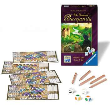 The Castles of Burgundy – The Dice Game Games;Strategy Games - image 2 - Ravensburger