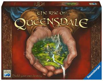 The Rise of Queensdale Games;Strategy Games - image 1 - Ravensburger