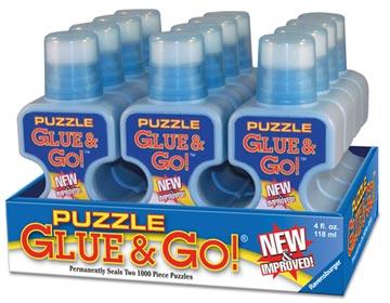 Puzzle Glue & Go! Puzzles;Puzzle Accessories - image 1 - Ravensburger