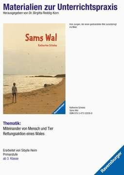 98006 Kinderliteratur Materialien zur Unterrichtspraxis - Katherine Scholes: Sams Wal von Ravensburger 1