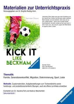 98046 Abenteuerbücher Materialien zur Unterrichtspraxis - Narinder Dhami: Kick it like Beckham von Ravensburger 1