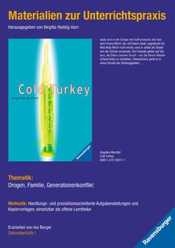 98047 Brisante Themen Materialien zur Unterrichtspraxis - Angelika Mechtel: Cold Turkey von Ravensburger 1