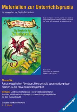 98053 Kinderliteratur Materialien zur Unterrichtspraxis - Bruce Coville: Ein Drache in der Schultasche von Ravensburger 1