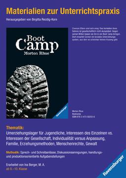 98060 Brisante Themen Materialien zur Unterrichtspraxis - Morton Rhue: Boot Camp von Ravensburger 1