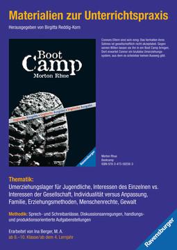 98061 Brisante Themen Materialien zur Unterrichtspraxis - Morton Rhue: Boot Camp (englische Ausgabe) von Ravensburger 1