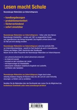 98065 Erstlesebücher Materialien zur Unterrichtspraxis - Fabian Lenk: Der Meisterdieb (Schulausgabe in Broschur) von Ravensburger 2