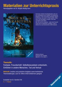 98082 Abenteuerbücher Materialien zur Unterrichtspraxis - Katherine Paterson: Die Brücke nach Terabithia von Ravensburger 1