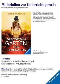 98083 Brisante Themen Materialien zur Unterrichtspraxis - Gudrun Pausewang: Das Tor zum Garten der Zambranos von Ravensburger 1