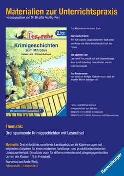 98089 Erstlesebücher Materialien zur Unterrichtspraxis - Fabian Lenk: Krimigeschichten zum Mitraten von Ravensburger 1
