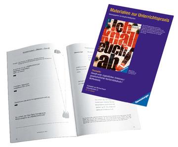Materialien zur Unterrichtspraxis - Morton Rhue: Ich knall euch ab! Jugendbücher;Brisante Themen - Bild 3 - Ravensburger