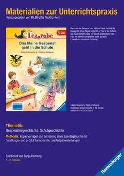 98120 Erstlesebücher Materialien zur Unterrichtspraxis - Katja Königsberg: Das kleine Gespenst geht in die Schule von Ravensburger 1