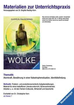 Materialien zur Unterrichtspraxis - Gudrun Pausewang: Die Wolke Jugendbücher;Brisante Themen - Bild 1 - Ravensburger