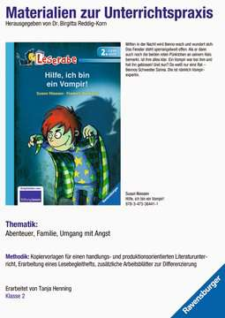 98142 Erstlesebücher Materialien zur Unterrichtspraxis - Susan Niessen: Hilfe, ich bin ein Vampir! von Ravensburger 1