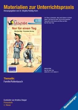 98342 Erstlesebücher Materialien zur Unterrichtspraxis - Manfred Mai: Nur für einen Tag (Schulausgabe in Broschur) von Ravensburger 1
