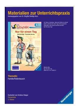 98342 Erstlesebücher Materialien zur Unterrichtspraxis - Manfred Mai: Nur für einen Tag (Schulausgabe in Broschur) von Ravensburger 2