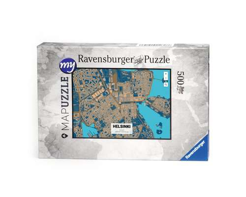 my MAPuzzle - 500 pezzi con scatola di cartone - immagine 1 - Clicca per ingrandire