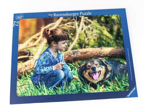 my Ravensburger Puzzle - Frame Puzzle 72 Pieces - image 1 - Click to Zoom