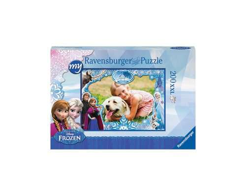 my Ravensburger Puzzle Disney Frozen – 200 pieces in a cardboard box - image 1 - Click to Zoom