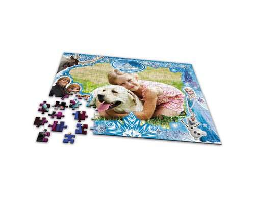 my Ravensburger Puzzle Disney Frozen – 200 pieces in a cardboard box - image 3 - Click to Zoom