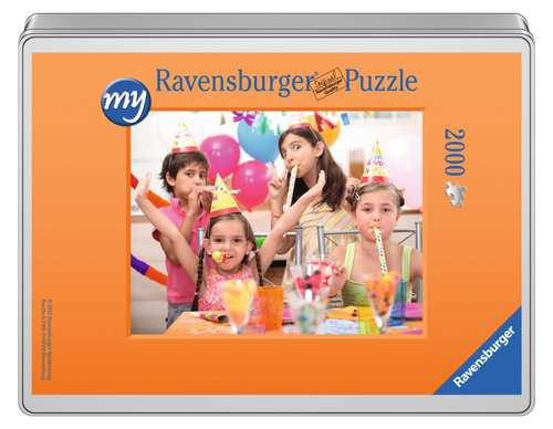 my Ravensburger Puzzle – 2000 pieces in a metal tin - image 1 - Click to Zoom