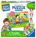 Mein allererstes Puzzle: Streichelzoo Baby und Kleinkind;Puzzles - Bild 5 - Ravensburger