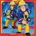 Puzzles 3x49 p - Notre héros Sam le pompier Puzzle;Puzzle enfant - Image 2 - Ravensburger