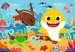 Der kleine Baby Hai       2x12p Puslespil;Puslespil for børn - Billede 2 - Ravensburger