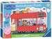 London Bus Shaped Giant Floor Puzzle, 24pc Puzzles;Children s Puzzles - image 1 - Ravensburger