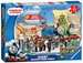 Thomas & Friends Shaped Chistmas Puzzle, 32pc with Door Hanger Puzzles;Children s Puzzles - image 1 - Ravensburger
