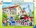 Die Feuerwehr rückt aus Puzzle;Kinderpuzzle - Bild 1 - Ravensburger