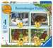The Gruffalo 4 in Box Puzzles;Children s Puzzles - image 1 - Ravensburger