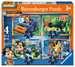 Rusty Rivets 4 v 1 2D Puzzle;Dětské puzzle - obrázek 1 - Ravensburger