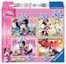 Myška Minnie 4 v 1 2D Puzzle;Dětské puzzle - obrázek 1 - Ravensburger